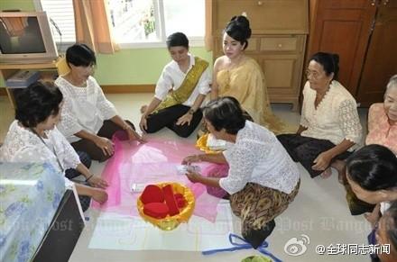 泰国:女女同性结婚送嫁妆 同志新闻 第2张