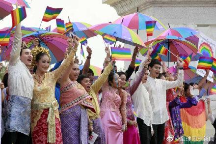 泰国的同性伴侣法案:政府重新启动立法