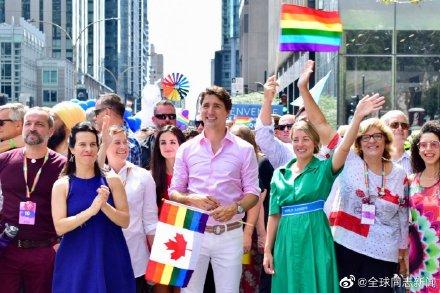 加拿大总理特鲁多又一次参加LGBT骄傲游-行 同志新闻 第5张