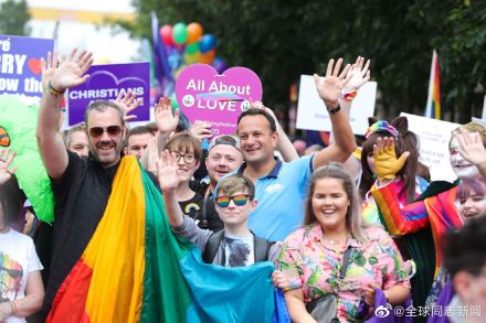 爱尔兰的总理参加北爱尔兰的LGBT骄傲游-行 同志新闻 第2张
