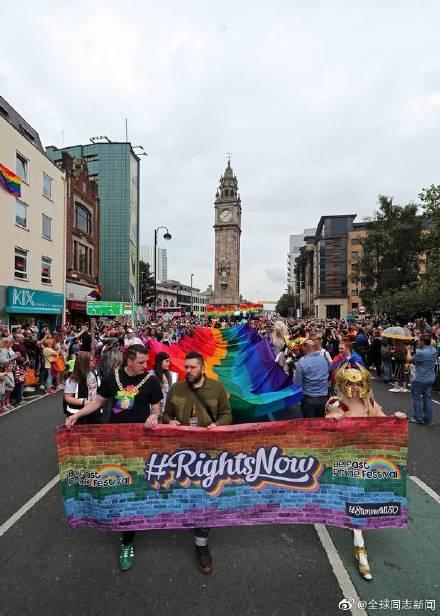 爱尔兰的总理参加北爱尔兰的LGBT骄傲游-行 同志新闻 第5张