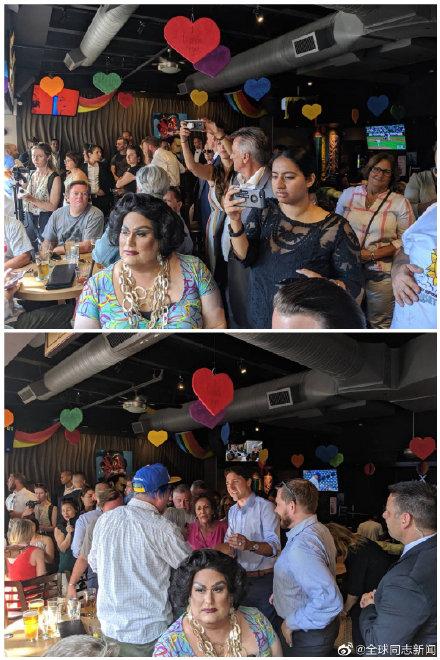加拿大总理特鲁多光临同性恋酒吧 同志新闻 第2张