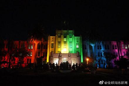 日本宫崎县政府举办LGBT彩虹周活动,政府大楼亮彩虹灯光 同志新闻 第5张