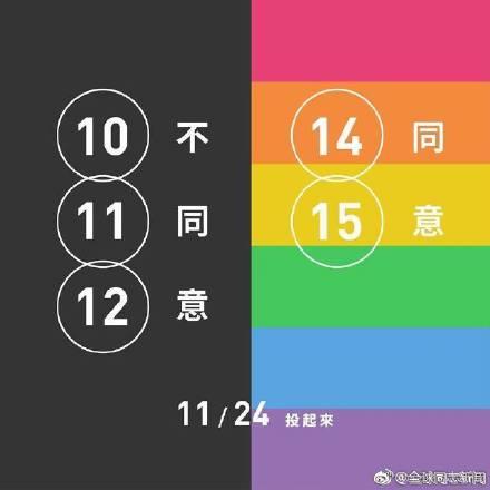 台湾同性恋平权相关公投:几种可能的结果