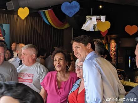 加拿大总理特鲁多光临同性恋酒吧 同志新闻 第4张
