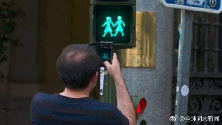 澳大利亚:同性恋交通灯庆贺婚姻平权一周年 同志新闻 第5张