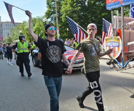 美国波士顿:异性恋骄傲游-行在争议声中登场 同志新闻 第7张