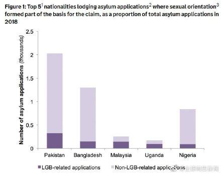 在英国申请避难的外国同性恋者,来自哪些国家的最多? 同志新闻 第2张