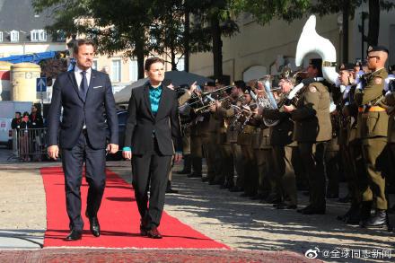 卢森堡和塞尔维亚:同性恋首相接待同性恋总理,同性伴侣也都在场 同志新闻 第5张
