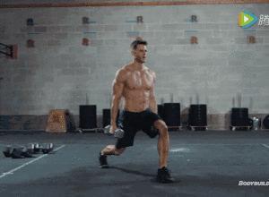 【组图】一副哑铃,6个动作,让你在家练爆全身! 健身穿搭 第10张