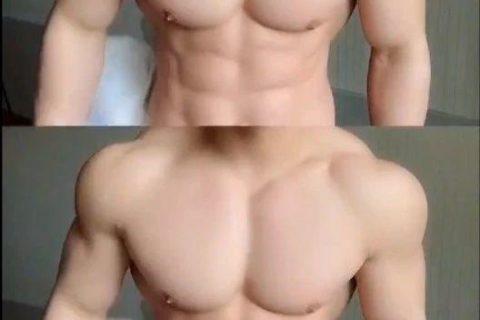 这胸肌大的有点犯规……