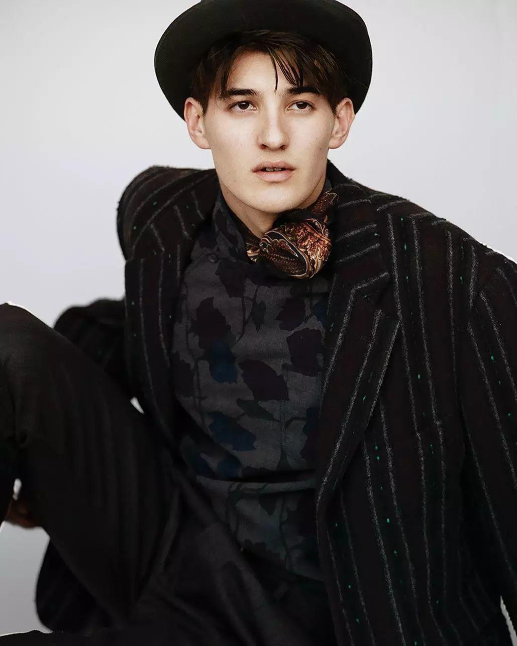 最新走向国际的日本男模,他名字叫夏秋牛奶?