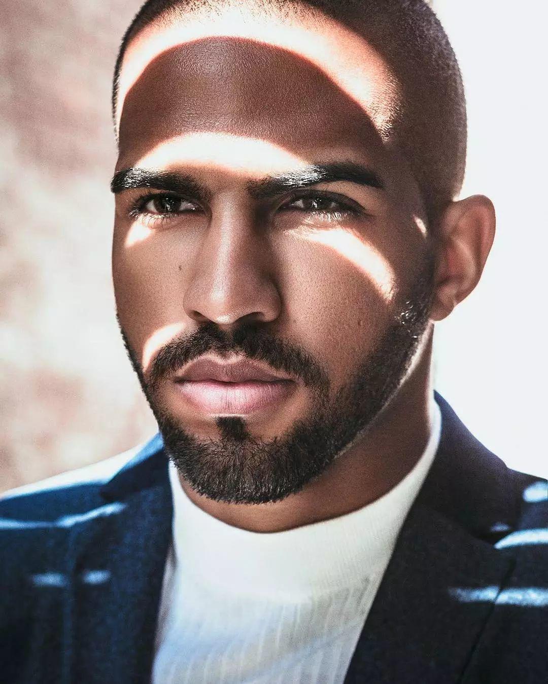 完美的法国黑人男模Pierre Abena,我觉得是我的真命天子!