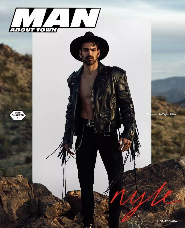英国男刊杂志《Man about town》封面,这个阵容真的厉害!