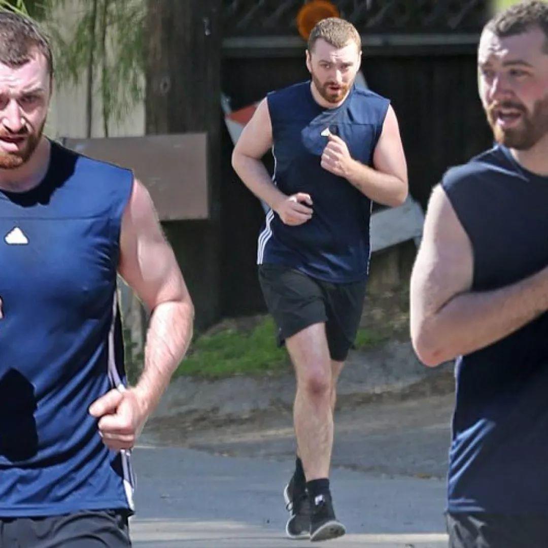 与小男友分手后,Sam Smith身材反弹复胖至两百斤,再度经历人生低谷!