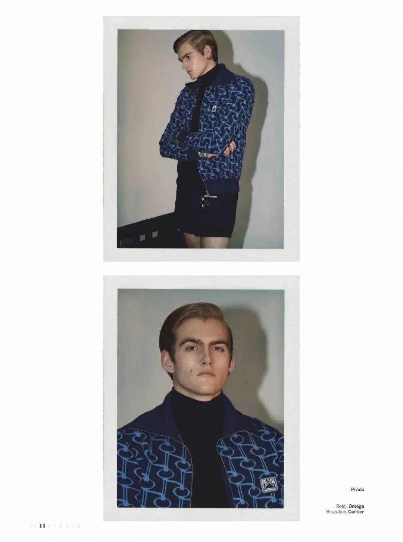 Presley Gerber新杂志封面,表现力有所进步!