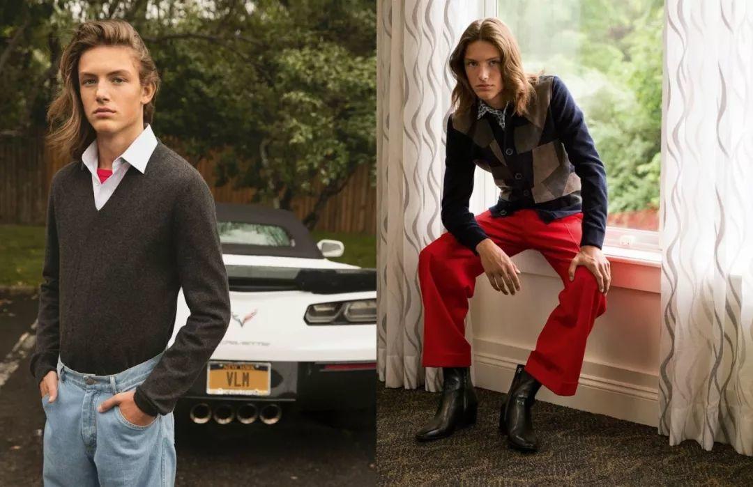 新的超模二代来袭,靠关系登国际男士版Vogue封面,居然没人骂!