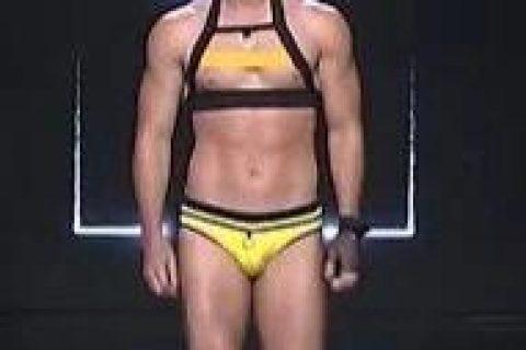 男士新款泳裤秀,情趣味儿好浓!