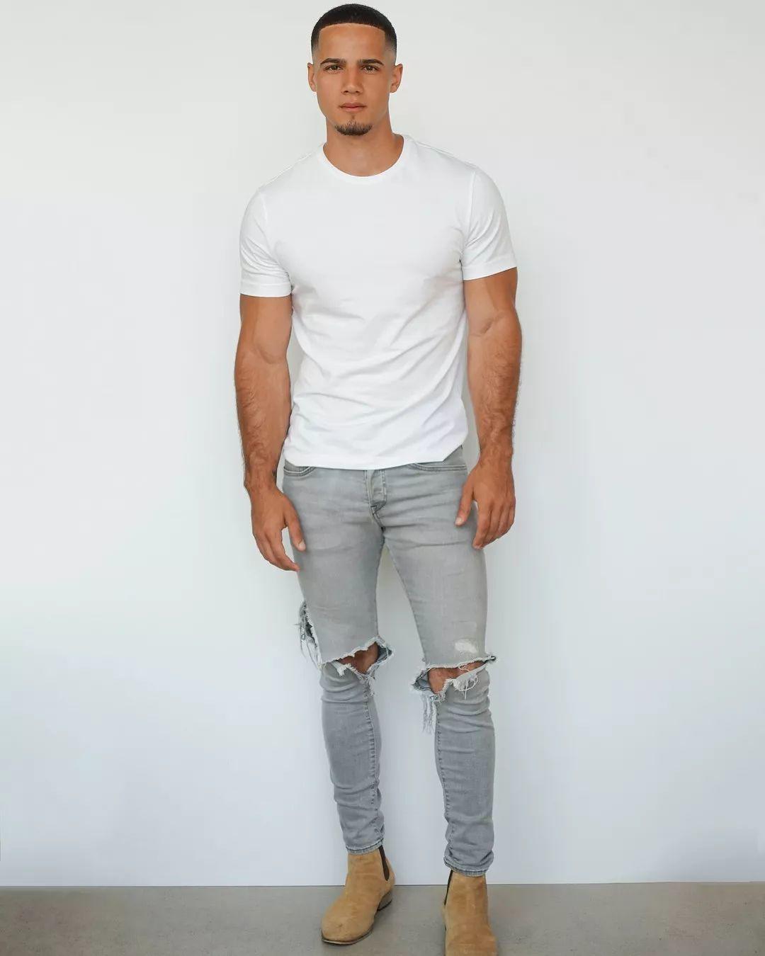 超模尼尼的迷弟男模走红时尚圈,长得居然也有几分相似!
