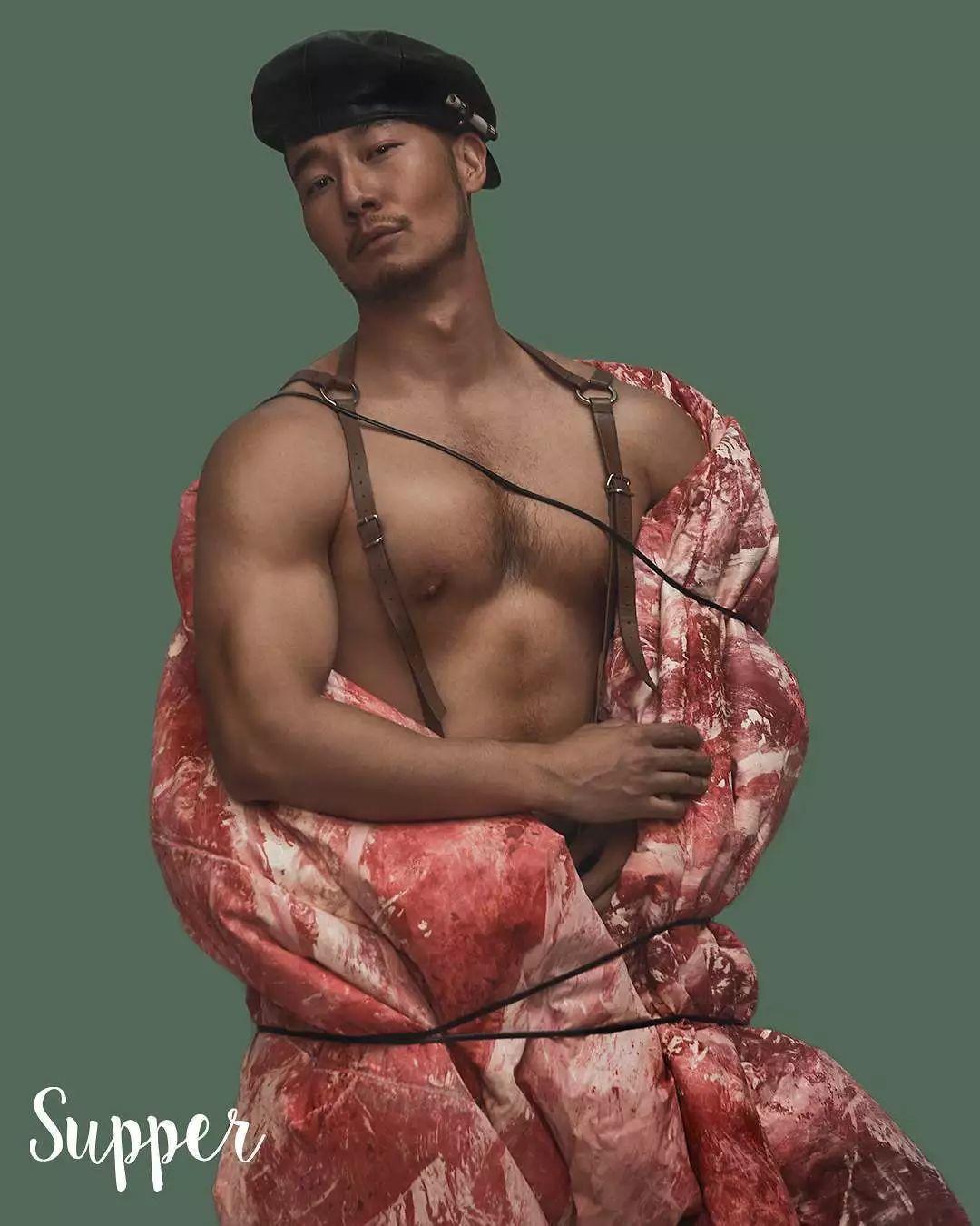 网红摄影师把男模整成这样了…