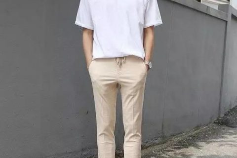 简单干净的日系男友穿搭,夏季必备