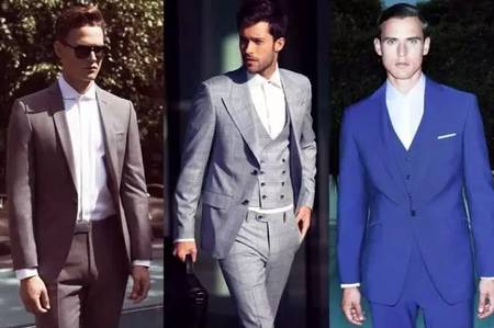 男士潮西装搭配新感觉