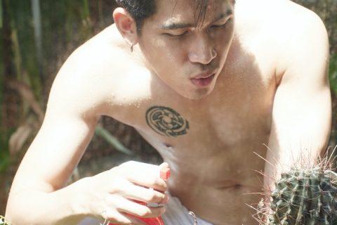 【写真】冷酷男模花园一日游!