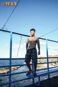【写真】《MAN》 第7期 耀眼 健身新星wade