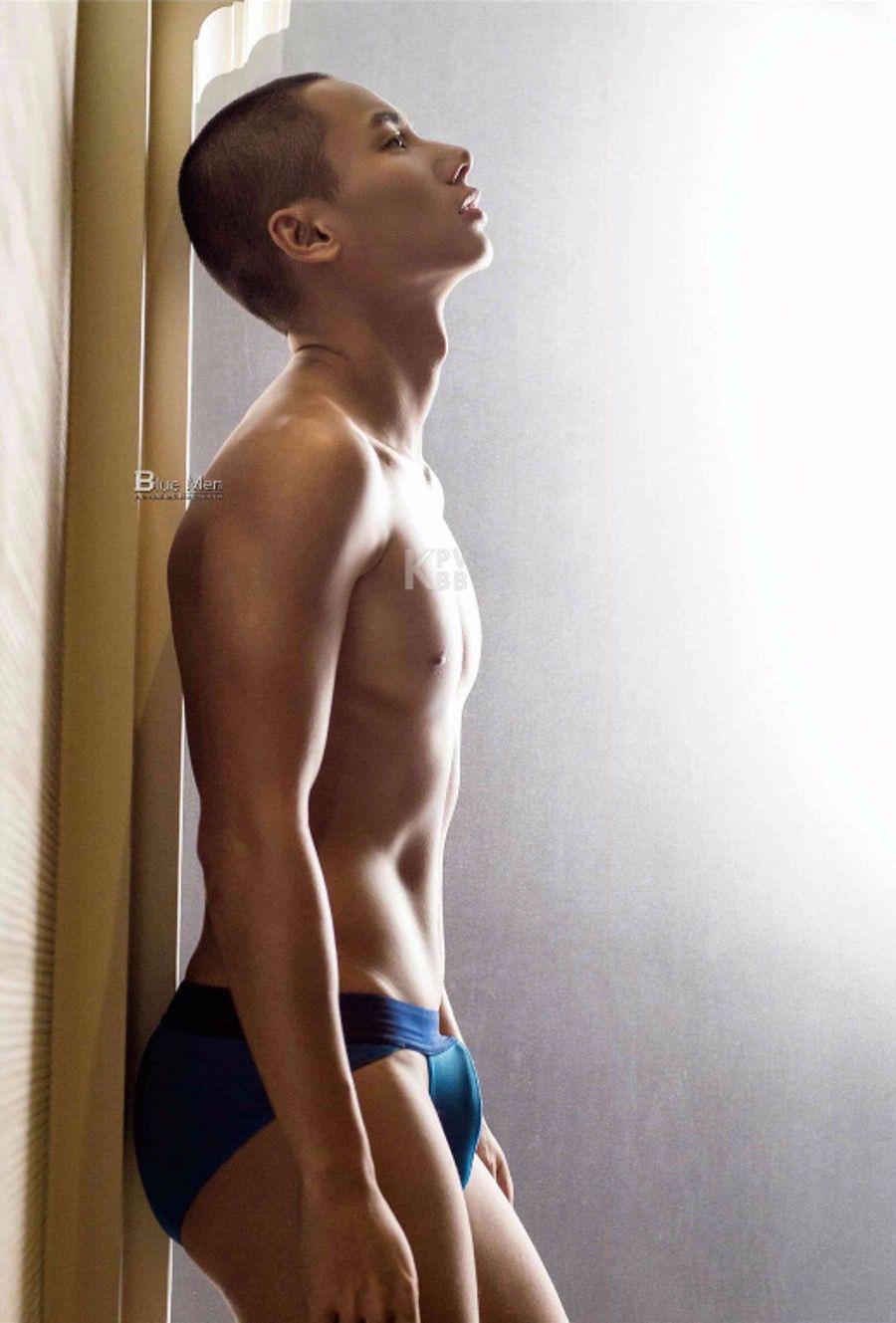 【写真】《蓝男色》 第127期 阳光运动员-马曜