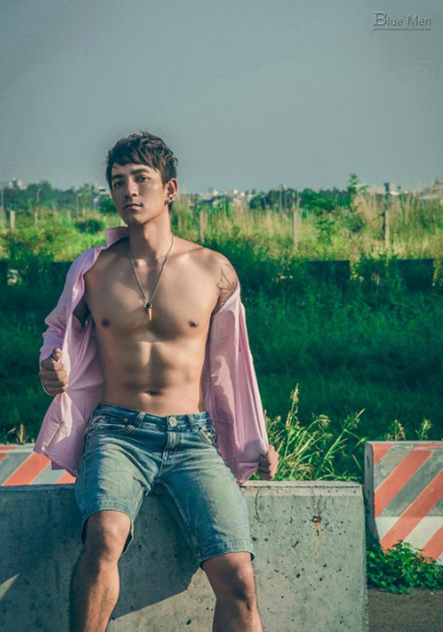 【写真】《蓝男色》第55期 达陆 野性男子野性男人味