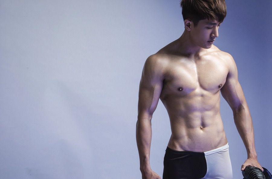 【写真】迷彩内裤装男模!简直不要太迷人