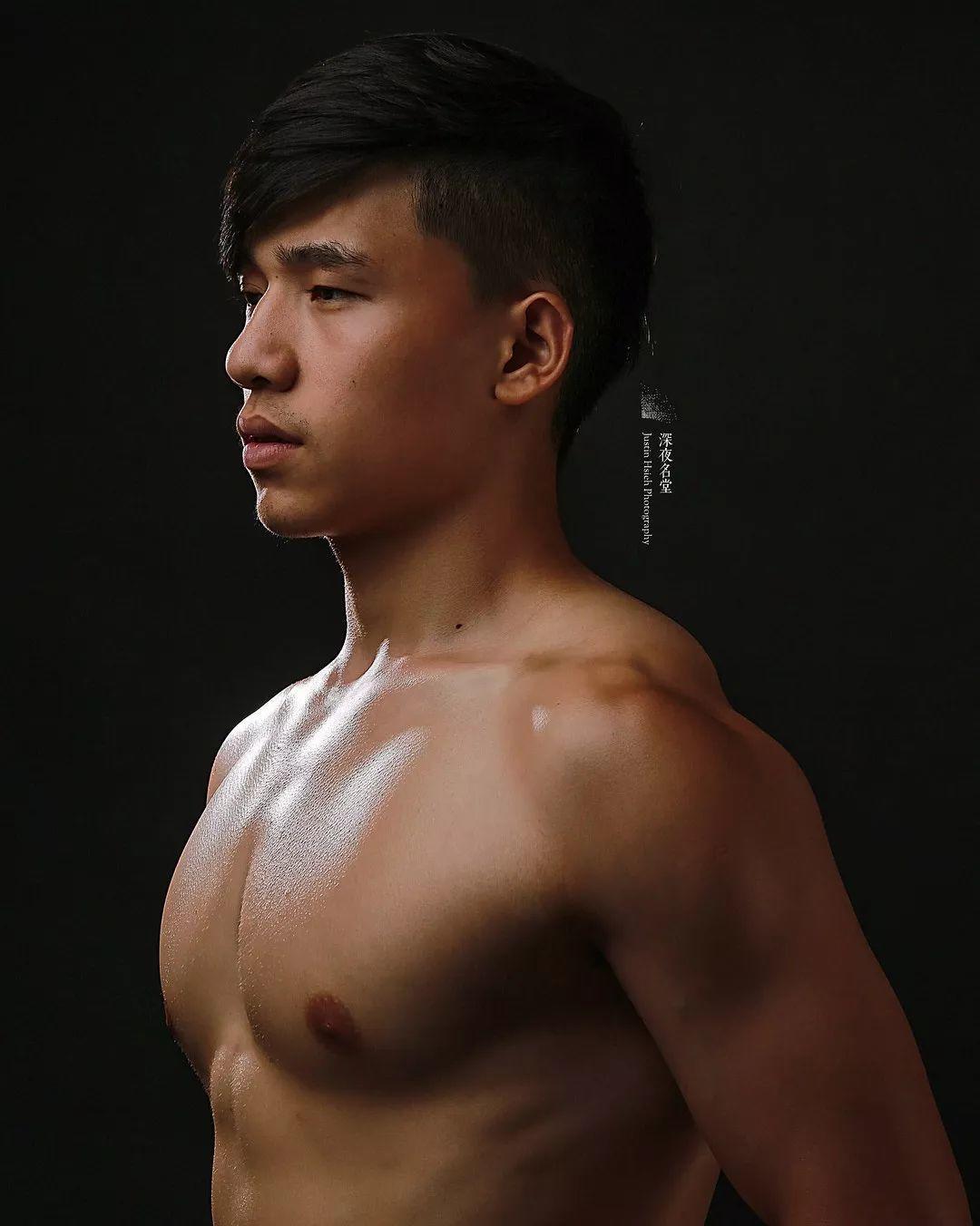 健身/潜水教练&内裤男模吕重毅
