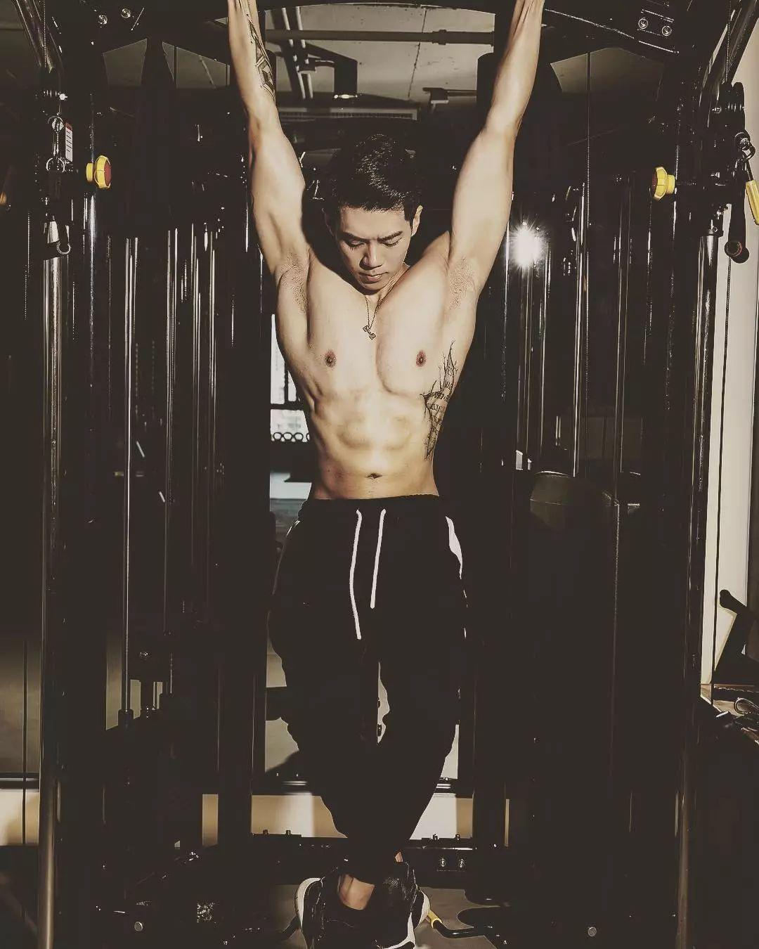 平面男模&健身教练王浩然 Johnny