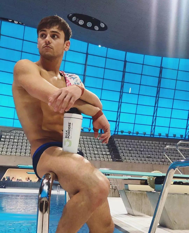 英国跳水小鲜肉TomDaley