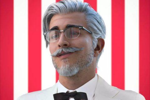 KFC新品居然是个男神,网友直呼帅翻了!