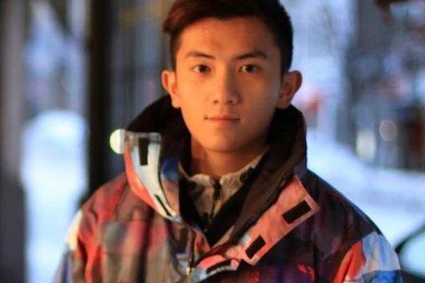 很正的一个香港帅哥!