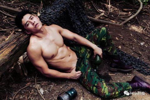 他是台湾版美国队长!但写真才上架一天就被强行下架?!