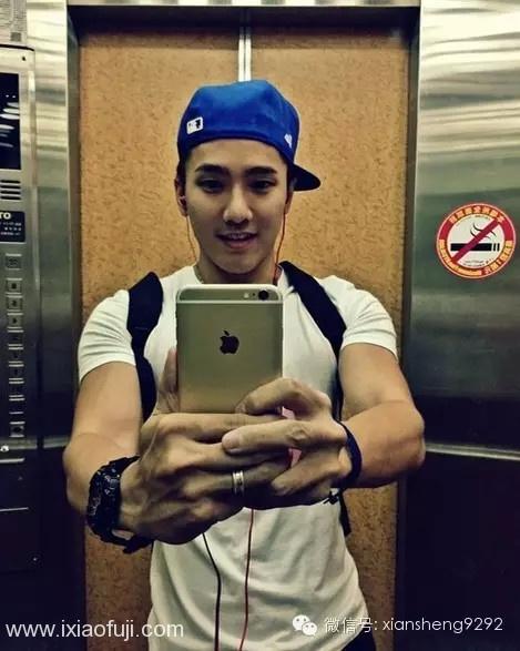 火辣,热情,还有古铜色的肌肉~这就是宝岛型男刘雨凯