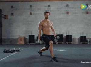 【组图】一副哑铃,6个动作,让你在家练爆全身! 健身穿搭 第2张