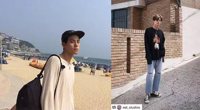 """亚洲时尚圈的5大潮男,原来他们才是""""淘宝风""""的原版。 健身穿搭 第21张"""