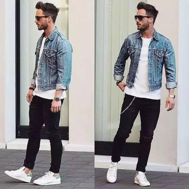 白T怎么穿才能帅气有型?利用外套打造3种风格,助你变身成功!